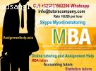 MBA Tutors / Assignment Help Derby, Dudley, Dundee
