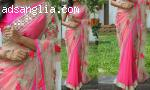 Get Designer Pink Sarees At Low Cost
