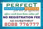 No Registration fees | Online Part time job | Data copy pas