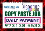 Ad Title / Heading  Online job Daily Payment | Copy Paste