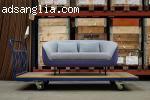 Складиране на офис мебели и жилища в склад под наем