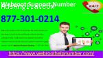 Webroot Support Number 877-301-0214 Dial Now Toll Free
