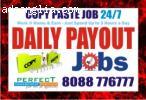 Online Survey Job Copy Paste Jobs | Data Entry job | BPO Job