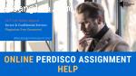 Online Perdisco Assignment Help | Perdisco Test Help