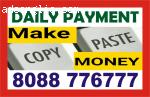 Bangalore part time work | Online job | Work Daily Earn Dail