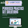 Perdisco Practice Set Solutions From Ph.D. Experts
